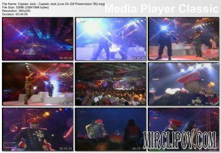Captain Jack - Captain Jack (Live, Zdf Powervision, 1995)