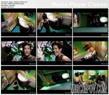 Alexia - Keep On Movin