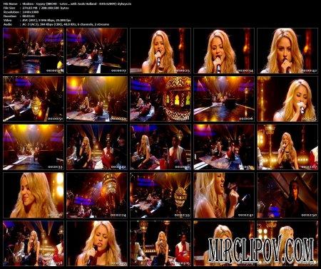 Shakira - Gypsy (Live, BBC, 2009)