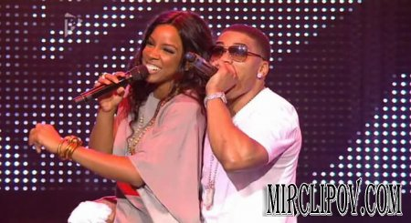 Nelly Feat. Kelly Rowland - Dilemma (Live, Orange Rockcorps 27.09.09)