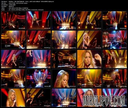 Shakira - She Wolf (Live, BBC, 2009)