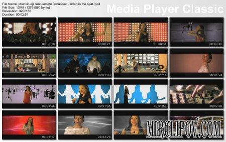 Phunkin Djs Feat. Pamela Fernandez - Kickin In The Beat
