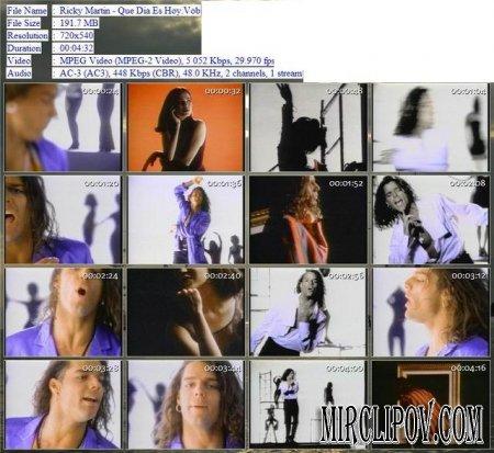 Ricky Martin - Que Dia Es Hoy