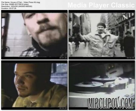 House Of Pain - Video Press Kit