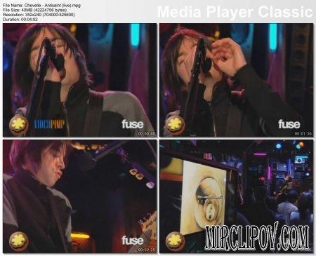 Chevelle - Antisaint (Live)