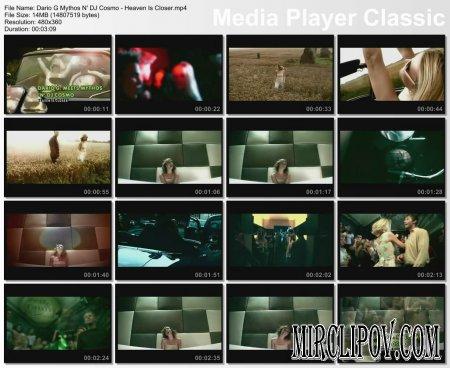 Dario G Feat. DJ Cosmo - Heaven Is Closer