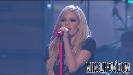 Avril Lavigne - Hot (Live, AMA, 2007)