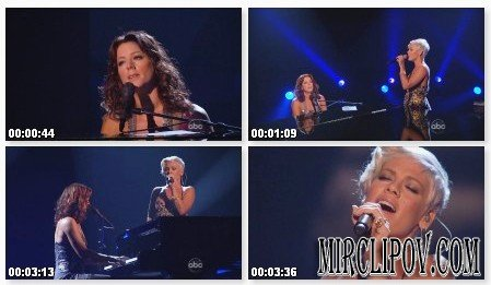 Sarah McLachlan Feat. Pink - Angel (Live, American Music Awards)