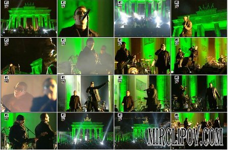 U2 Feat. Jay-Z - Sunday Bloody Sunday (Live, MTV EMA, Berlin, 05.11.09)