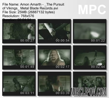 Amon Amarth - The Pursuit Of Vikings Metal Blade Records