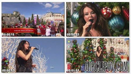 Sarah Brightman - Silent Night (Live, The Disney Christmas Parade)