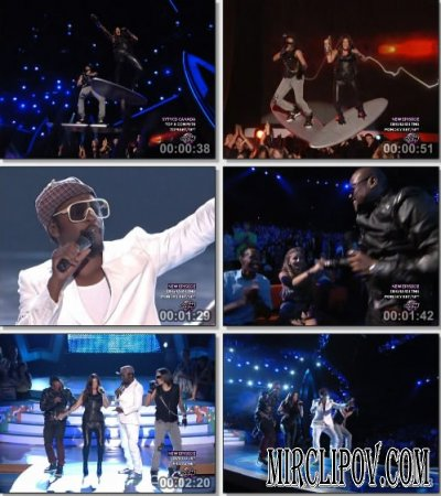 Black Eyed Peas - I Gotta Feeling (Live, Teen Choice Awards, 2009)