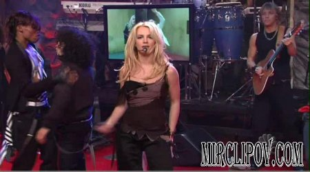Britney Spears - Me Against The Music (Live, Jay Leno)
