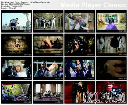 Lady Gaga - Paparazzi (Moto Blanco Remix)