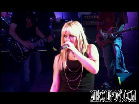 Hilary Duff - Little Voice (Live)