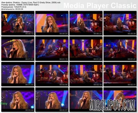 Shakira - Gypsy (Live, Paul O Grady Show, 2009)