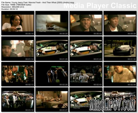 Young Jeezy Feat. Mannie Fresh - And Then What