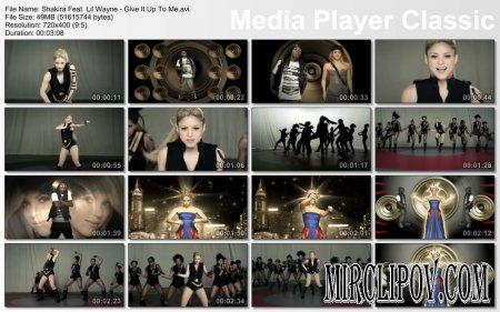 Shakira Feat. Lil Wayne - Give It Up To Me