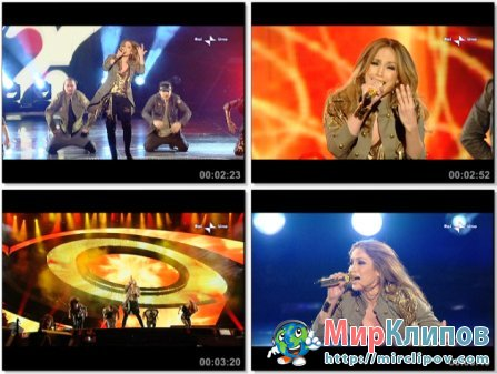 Jennifer Lopez - What Is Love (Live, Festival Di Sanremo, 2010)