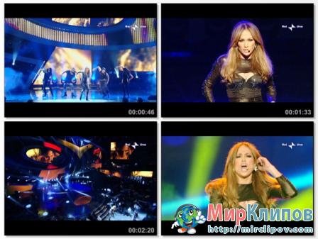Jennifer Lopez - Medley (Live, Festival Di Sanremo,  2010)