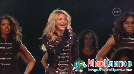 Shakira - Medley (Live, NBA All Stars, 2010)