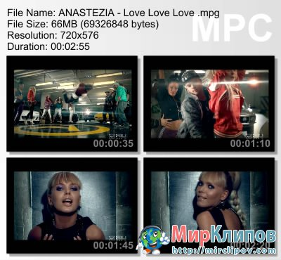 Anastezia - Love Love Love