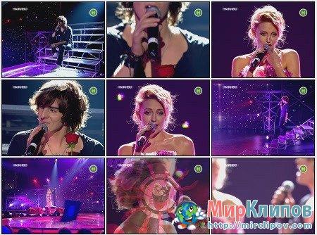 Владимир Дантес и Ева Бушмина - When You Tell Me That You Love Me (Live, Фабрика Звезд, Украина)