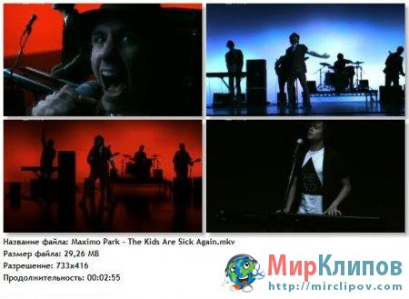 Maximo Park - The Kids Are Sick Again