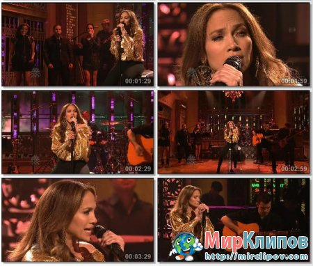Jennifer Lopez - Starting Over (Live, SNL, 2010)