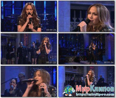 Jennifer Lopez - Pieces (Live, SNL, 2010)
