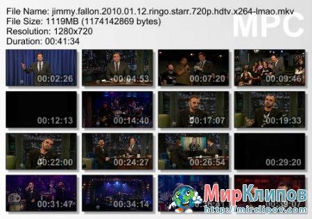 Ringo Starr - Jimmy Fallon Show (Live)