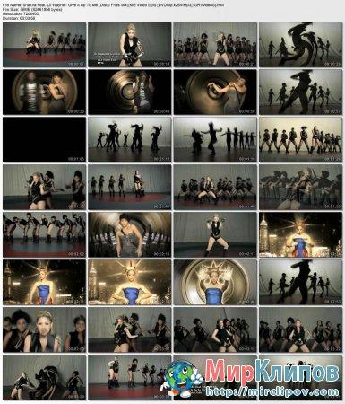 Shakira Feat. Lil Wayne - Give It Up To Me (Disco Fries Mix)