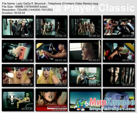 Lady Gaga Feat. Beyonce - Telephone (Crookers  Remix)