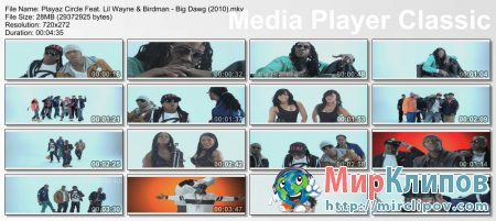 Playaz Circle Feat. Lil Wayne & Birdman - Big Dawg