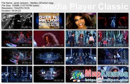 Janet Jackson - Medley (Live, X-Factor)