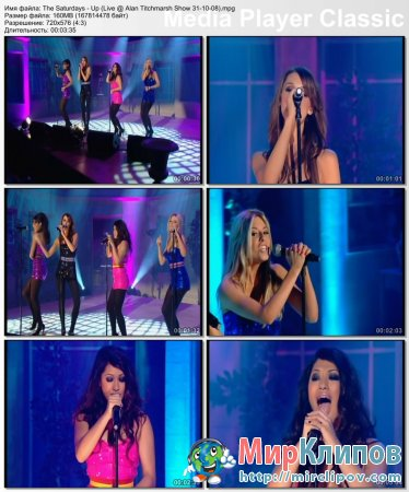 The Saturdays - Up (Live, Alan Titchmarsh Show)