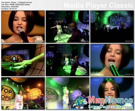 Alizee - L'Alizee (Live)