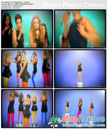 The Saturdays - Up