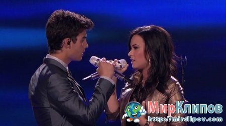 Demi Lovato Feat. Joe Jonas - Make A Wave (Live, American Idol)