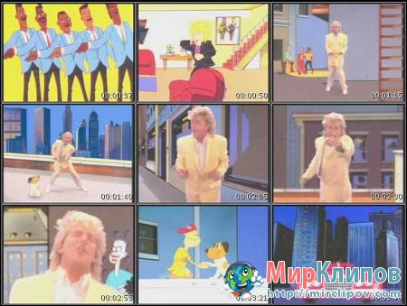 Rod Stewart – The Motown Song