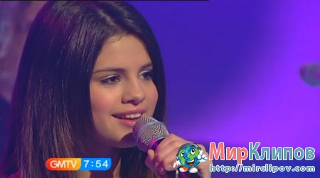 Selena Gomez - Naturally (Live, GMTV, 05.04.2010)