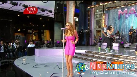 Mariah Carey - Touch My Body (Live, GMA)