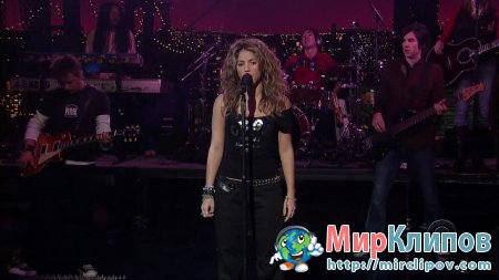 Shakira - Don't Bother (Live, Late Show With David Letterman, 2005)