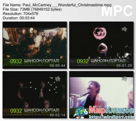 Paul McCartney – Wonderful Christmastime