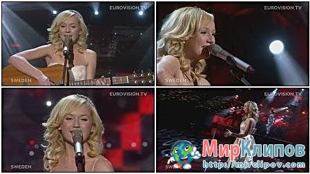 Anna Bergendahl (From Sweden) - This Is My Life (Live, Eurovision, 29.05.2010)