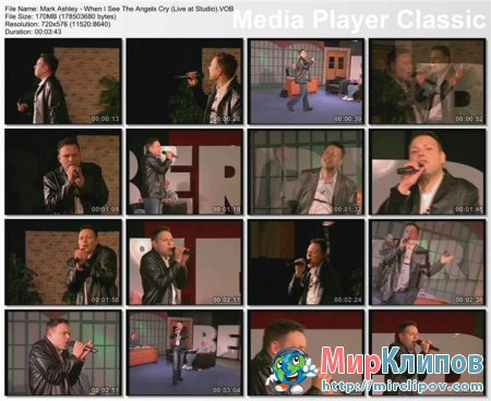 Mark Ashley - When I See The Angels Cry (Live At Studio)