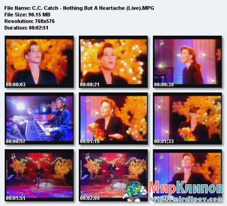 C.C.Catch - Nothing But A Heartache (Live)