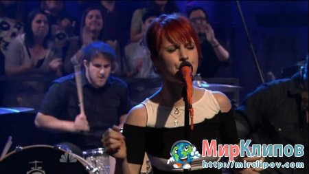 Paramore - Brick By Boring Brick (Live, Late Night With Jimmy Fallon)