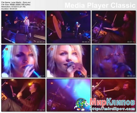Lene Marlin - Sorry (Live )
