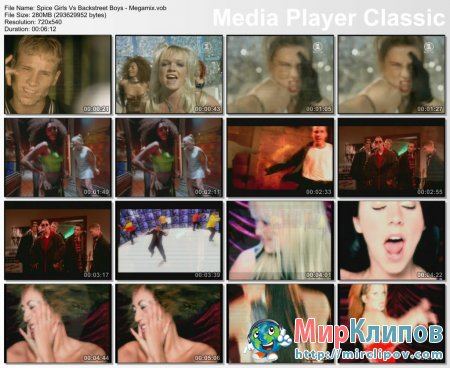 Spice Girls vs. Backstreet Boys - Megamix